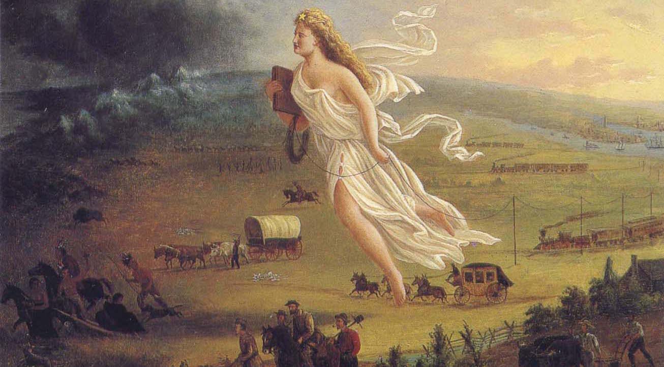 the westward movement manifest destiny